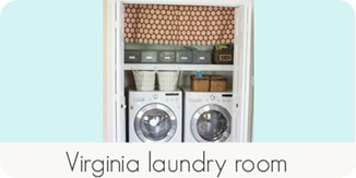 Virginia laundry room