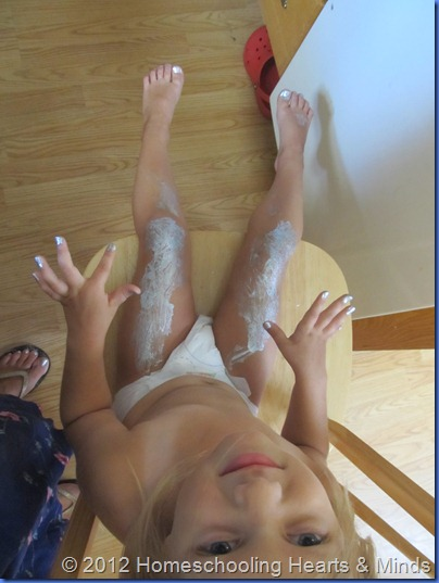 toddler body paint