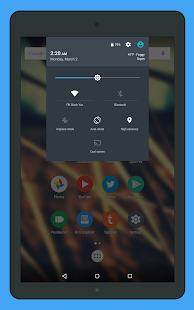 Gem Flat CM12 Theme- screenshot thumbnail