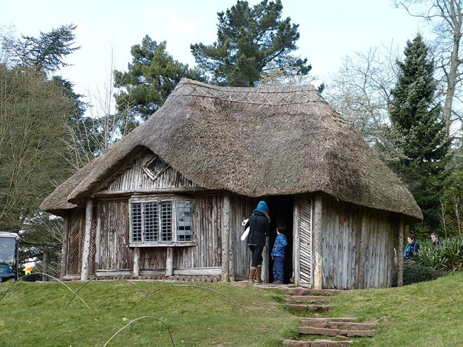 Bear Hut in Killerton