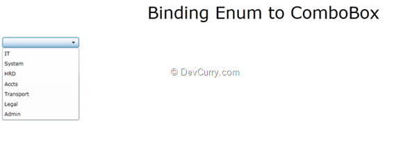 Silverlight 4: Binding Enum with ComboBox