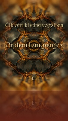 Orphan Languages Cover