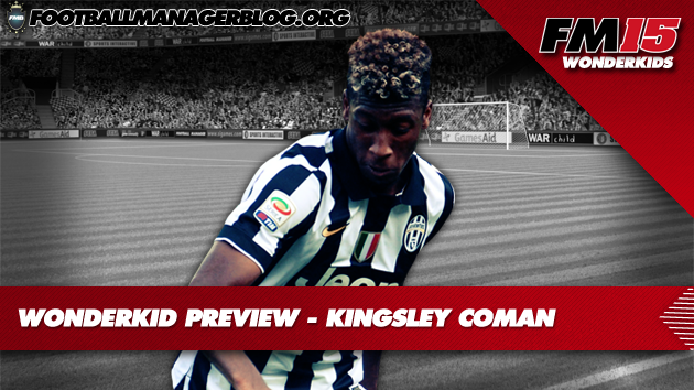 Kingsley Coman Football Manager 2015