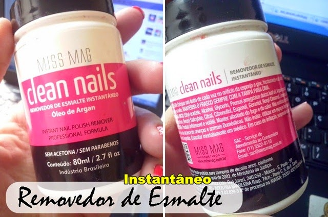 removedor clean nails