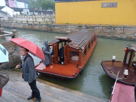 Obiective turistice Suzhou: Barca