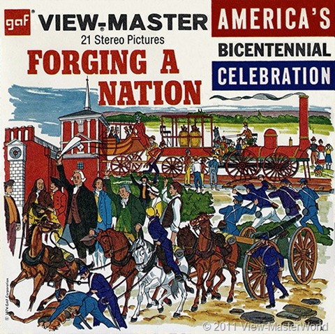 View-Master Forging A Nation (B811), Packet Cover