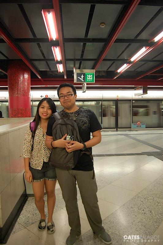 Toppet and I, Tsim Sha Tsui Station.