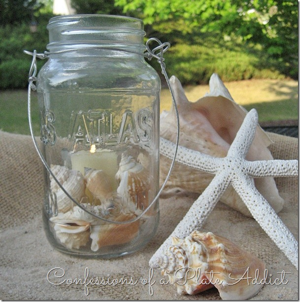 CONFESSIONS OF A PLATE ADDICT Summer Mason Jar Candles