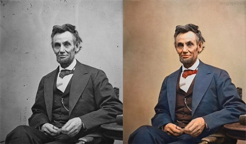Black And White Photos Restored In Color