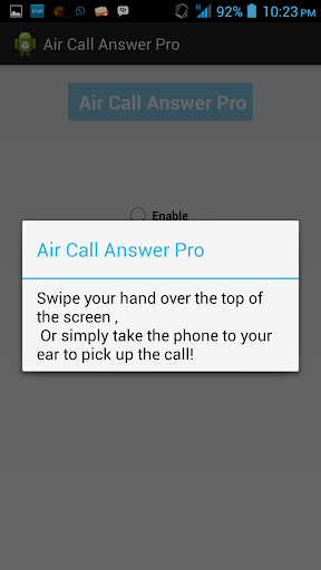 Air Call Answer Pro