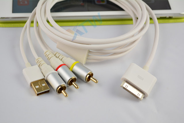 Cable USB AV-RCA