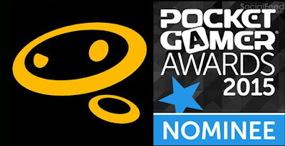 Hey all Glu glumobile is up for a couple PocketGamer awards Vote for us here: