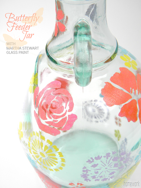 Butterfly Feeder Jar