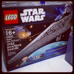 LEGO: 10221 UCS Super Star Destroyer を買いました