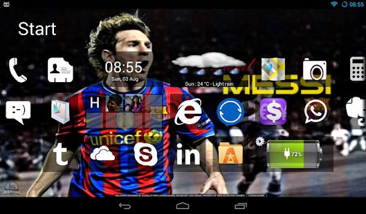 Home8+ like Windows 8 Launcher - screenshot thumbnail