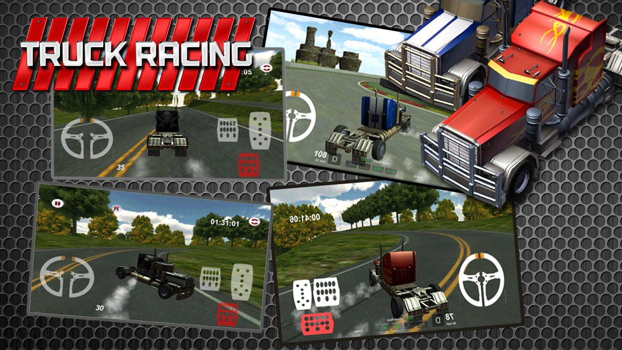 3d highway truck race game android apps on google play
