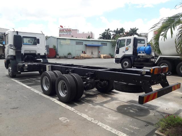 Xe Prima 15.5 tấn có nền chassi độ cứng và đàn hồi cao
