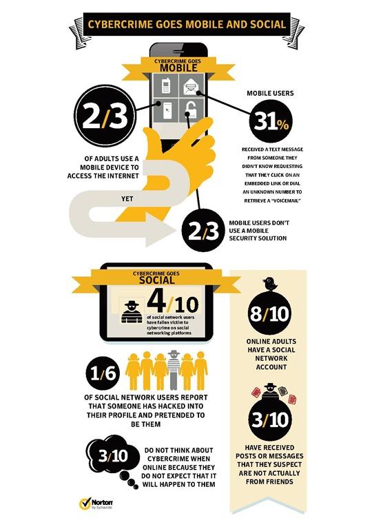Norton Cybercrime Report 2012 - Infographic