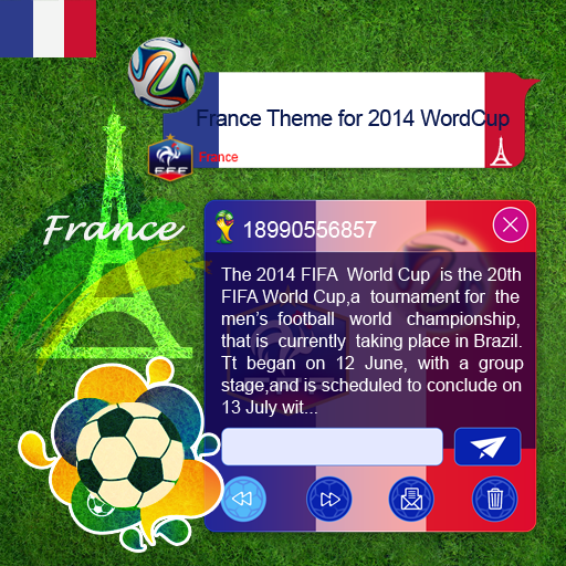 France Theme for 2014 WorldCup
