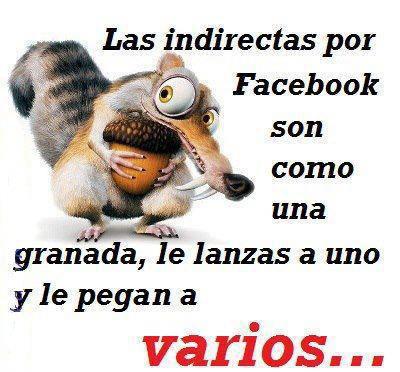 Las indirectas imagen para facebook