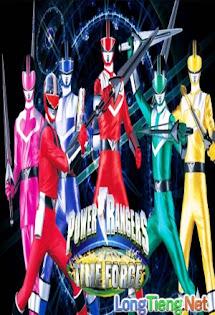 Chiến Đội Tương Lai Timeranger - Mirai Sentai Timeranger