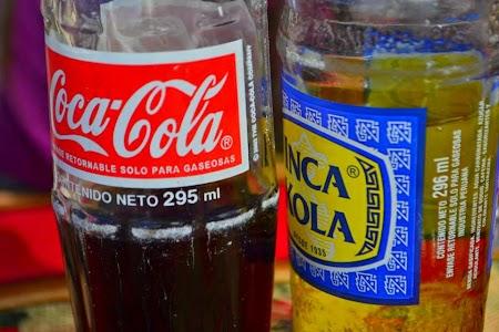 Inca Cola, bautura racoritoare din Peru