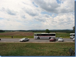 2311 Pennsylvania - Gettysburg, PA - Gettysburg National Military Park - Gettysburg Battlefield Tours - our tour bus at Eternal Light Peace Memorial stop