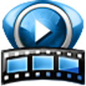 V On-line videos player icon