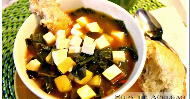 Mexico In My Kitchen Swiss Chard And Potato Soup Sopa