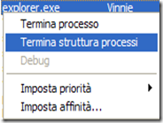 Come terminare un processo che blocca Windows usando il Task Manager