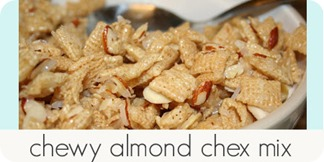 chewy almond chex mix_