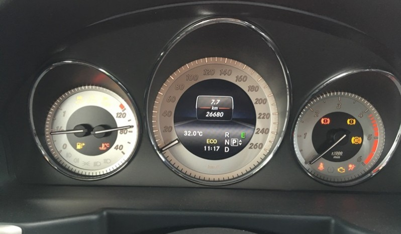 Nội thất xe Mercedes Benz GLK 220 cũ máy dầu 2014 màu bạc 03