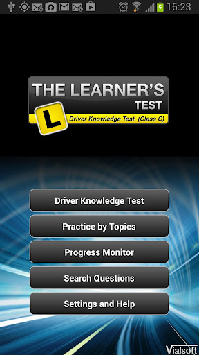 The Learners Test - AU DKT CAR