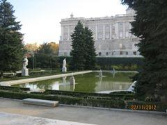 Сад Сабботини у Королевской Резиденции в Мадриде