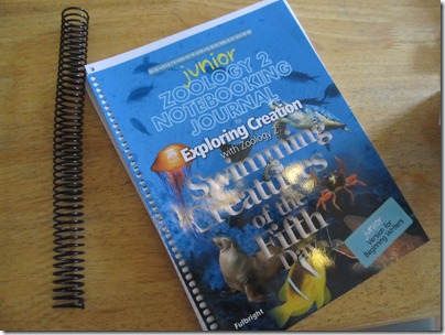 Apologia Zoo 2:  Swimming Creatures Homeschool Review http://homeschoolheartandmind.blogspot.com