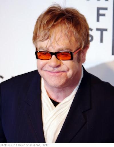 'Elton John 2011 Shankbone' photo (c) 2011, David Shankbone - license: http://creativecommons.org/licenses/by/2.0/