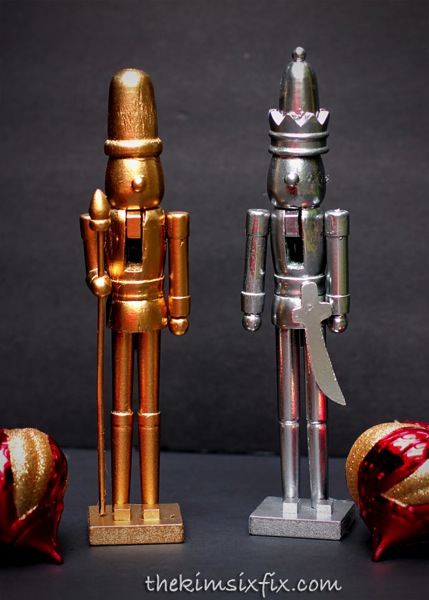 Shiny nutcrackers