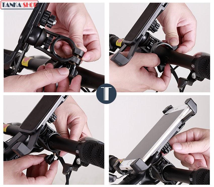 Giá đỡ điện thoại trên xe đạp XGear PH-666
