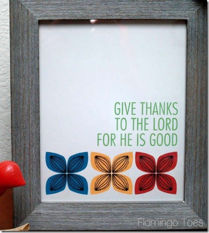 retro give thanks printable