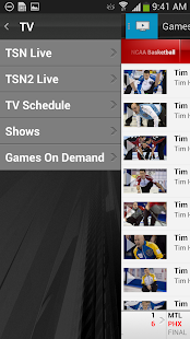 TSN GO - screenshot thumbnail