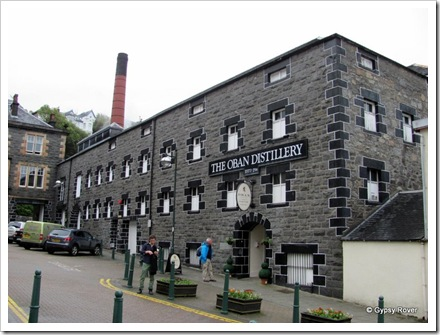 Want a wee dram? Oban's whisky distillery.