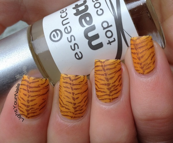 Tiger stamping with BP-16 plate from BornPrettyStore