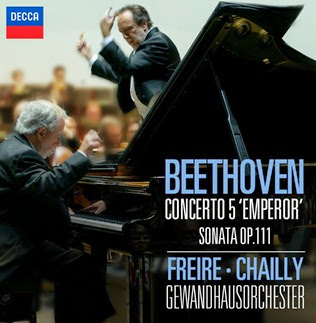 CD REVIEW: Ludwig van Beethoven - PIANO CONCERT NO. 5 & SONATA NO. 32 (DECCA 478 6771)