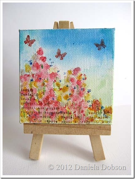 Mother's day Painting on easel 60777