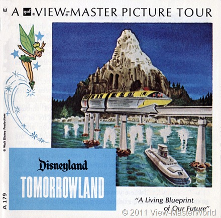 View-Master Tomorrowland (A179), Booklet Cover
