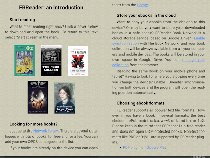 FBReader: Favorite Book Reader- screenshot thumbnail