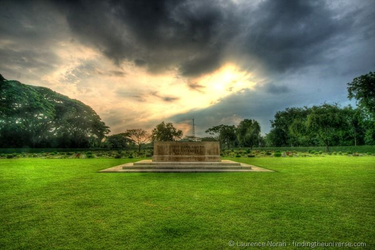 Kanchanaburi War Cemetery Chungkai Thailand