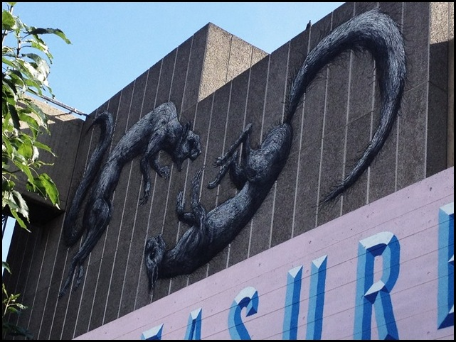 Roa's Squirrels Southbank