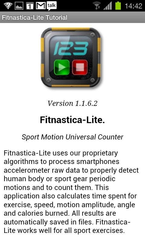 Fitnastica Free Reps Counter- screenshot