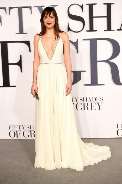 Dakota Johnson Fifty Shades Grey UK Premiere